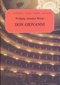 Don Giovanni K 527 MOZART Partition Opéras - laflutedepan