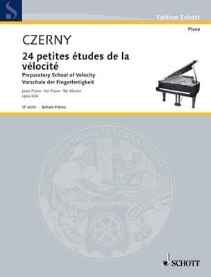 La Petite Vélocité Opus 636 CZERNY Partition Piano - laflutedepan