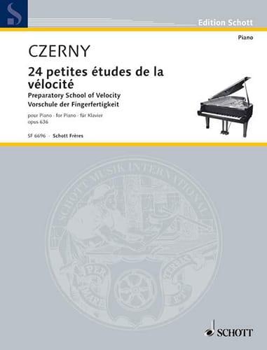 La Petite Vélocité Opus 636 - CZERNY - Partition - laflutedepan.com