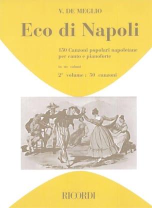 Eco Di Napoli Volume 2 Partition Mélodies - laflutedepan
