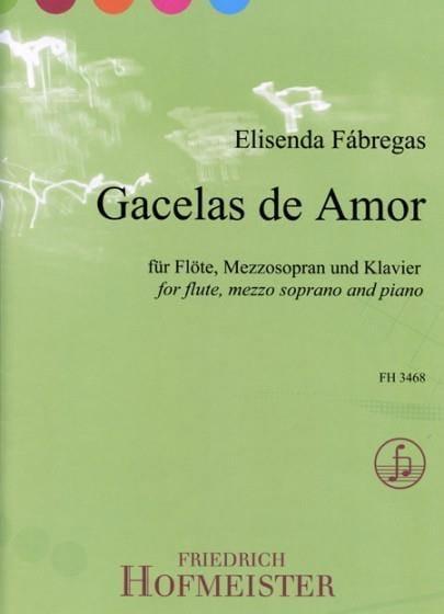 Gacelas de amor - Elisenda Fabregas - Partition - laflutedepan.com
