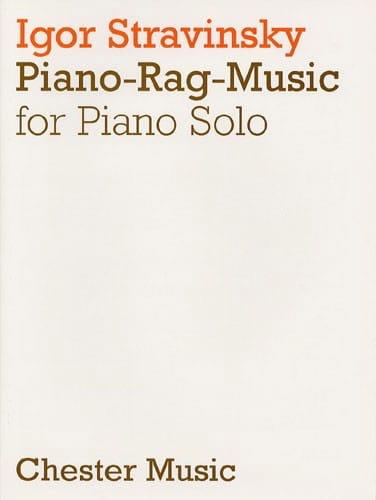 Piano Rag Music - STRAVINSKY - Partition - Piano - laflutedepan.com