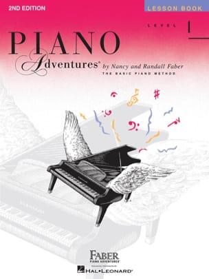 Piano Adventures - Lesson Book - Level 1 Nancy Faber laflutedepan