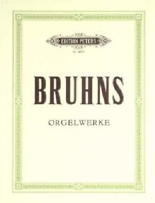 Orgelwerke Nicolaus Bruhns Partition Orgue - laflutedepan