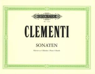 Sonates 4 Mains CLEMENTI Partition Piano - laflutedepan