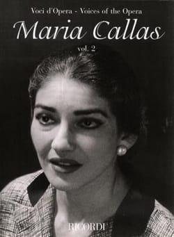 Voci D'opera : Maria Callas Volume 2 - laflutedepan.com