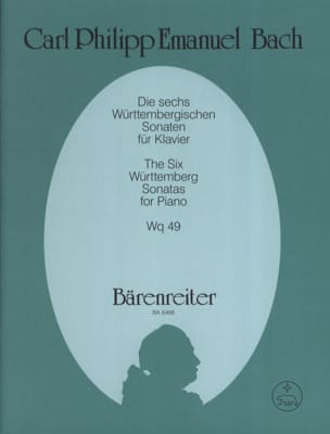 Die 6 Württembergischen Sonaten Wq 49 - laflutedepan.com