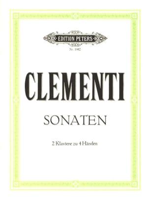 2 Sonates. 2 Pianos CLEMENTI Partition Piano - laflutedepan