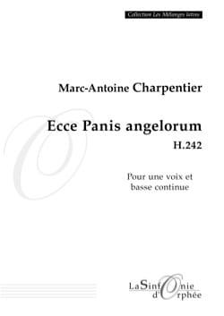 Ecce Panis Angelorum H 242 CHARPENTIER Partition laflutedepan