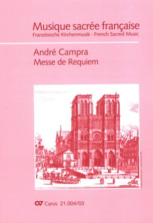Messe de Requiem CAMPRA Partition Chœur - laflutedepan
