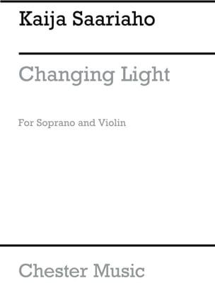 Changing Light Kaija Saariaho Partition Violon - laflutedepan