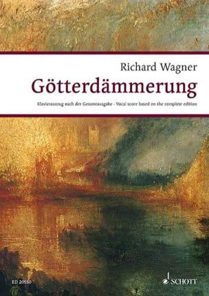 Götterdammerung Wwv 86d WAGNER Partition Opéras - laflutedepan