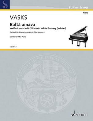 Balta Ainava - White Scenery Winter Péteris Vasks laflutedepan