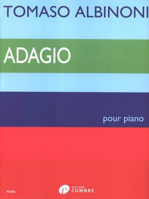 Adagio ALBINONI Partition Piano - laflutedepan