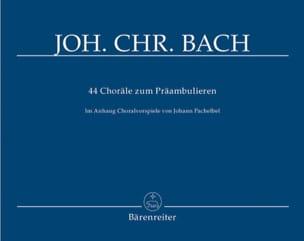 44 Choräle zum Präambulieren für Orgel laflutedepan
