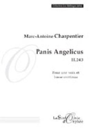 Panis Angelicus H 243 - CHARPENTIER - Partition - laflutedepan.com