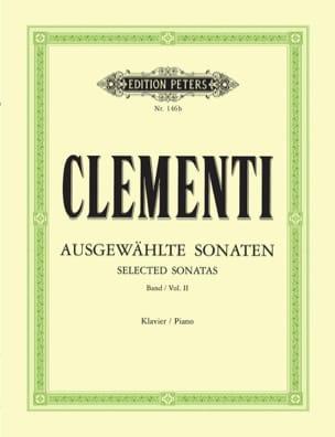 Sonates. Volume 2 CLEMENTI Partition Piano - laflutedepan