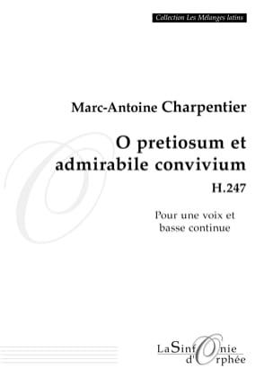 O Pretiosum et Admirabile Convivium H 247 CHARPENTIER laflutedepan