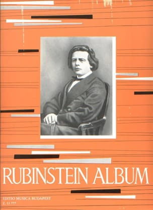 Album Anton Rubinstein Partition Piano - laflutedepan