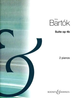 Suite Opus 4b. 2 Pianos - BARTOK - Partition - laflutedepan.com
