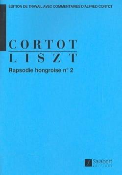 Rhapsodie Hongroise N° 2. LISZT Partition Piano - laflutedepan