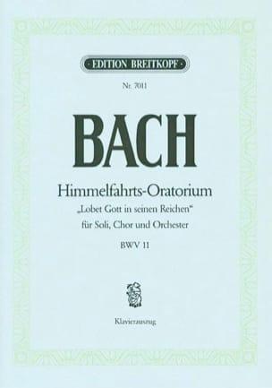 Himmelfahrts-Oratorium BACH Partition Chœur - laflutedepan