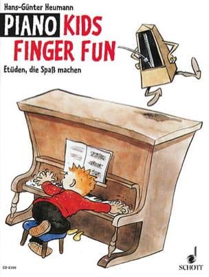 Piano kids finger fun Hans-Günter Heumann Partition laflutedepan