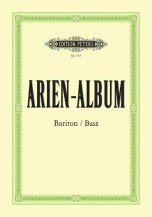 Arien Album Baryton / Basse Partition Opéras - laflutedepan