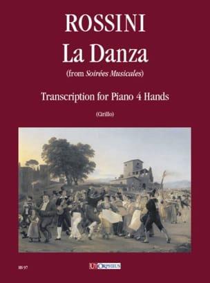 La Danza. 4 Mains ROSSINI Partition Piano - laflutedepan