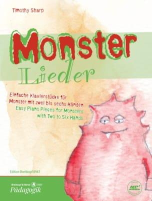 Monster Lieder Timothy Sharp Partition Piano - laflutedepan