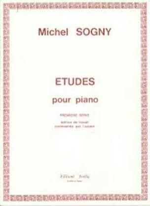 Etudes Pour Piano - 1ère Série Michel Sogny Partition laflutedepan