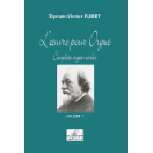 Oeuvre Pour Orgue Volume 1 - Dynam-Victor Fumet - laflutedepan.com