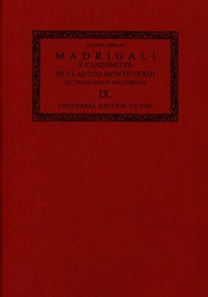 Madrigali E Canzonette Libro 9 1651 Oc9 MONTEVERDI laflutedepan