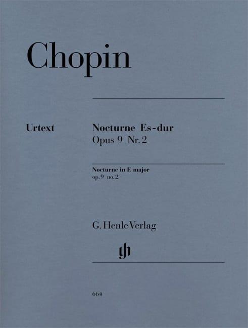 Nocturne en Mi bémol majeur Opus 9-2 - CHOPIN - laflutedepan.com