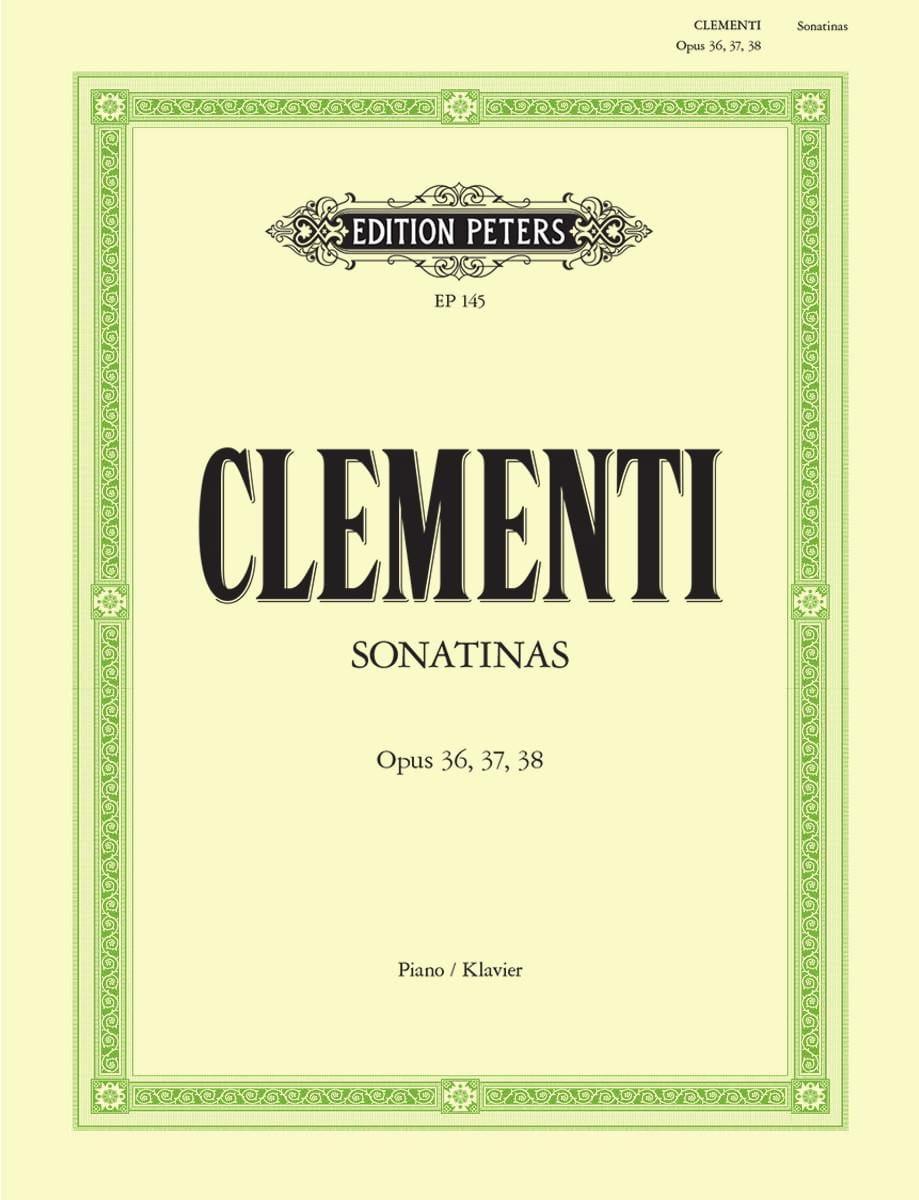 Sonatines Opus 36, 37, 38 - CLEMENTI - Partition - laflutedepan.com