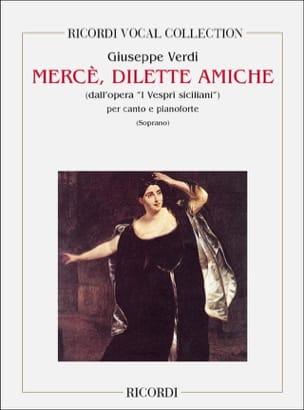 Merce, Dilette Amiche. I Vespri Siciliani VERDI Partition laflutedepan