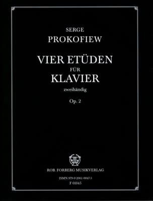 4 Etudes Opus 2 PROKOFIEV Partition Piano - laflutedepan