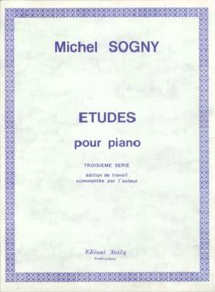 Etudes Pour Piano - 3ème Série Michel Sogny Partition laflutedepan