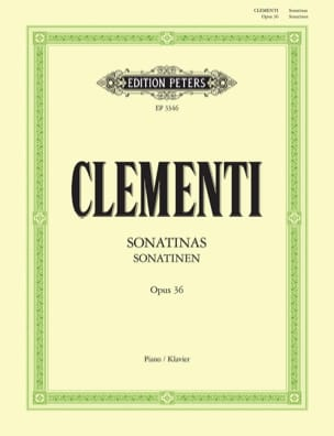 Sonatines Opus 36 CLEMENTI Partition Piano - laflutedepan