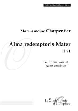 Alma Redemptoris Mater H 21 CHARPENTIER Partition Duos - laflutedepan