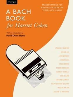 A Bach Book for Harriet Cohen - Partition - laflutedepan.com