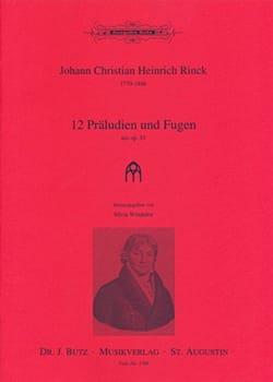 12 Préludes et Fugues Opus 55 - laflutedepan.com