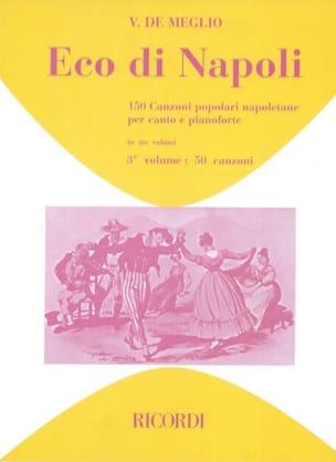 Eco Di Napoli. Volume 3 Partition Mélodies - laflutedepan