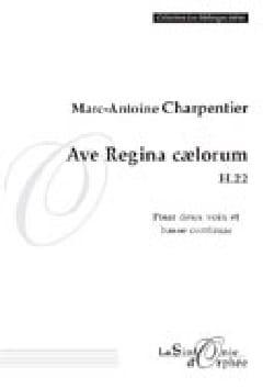 Ave Regina Caelorum H 22 CHARPENTIER Partition Duos - laflutedepan