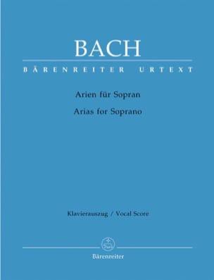 Das Arienbuch Soprano BACH Partition Mélodies - laflutedepan