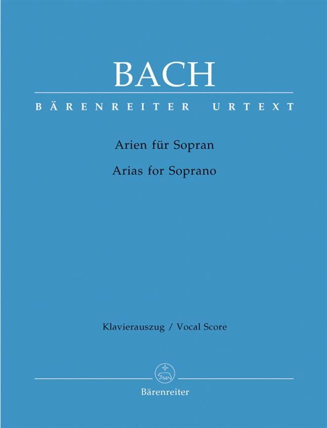 Das Arienbuch Soprano - BACH - Partition - Mélodies - laflutedepan.com