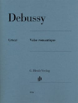 Valse romantique L 79 71 DEBUSSY Partition Piano - laflutedepan
