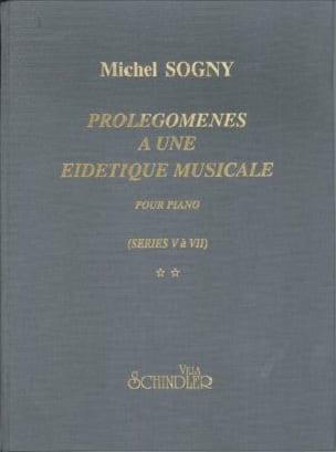 Prolégomènes à une eidétique musicale - Séries 5 à 7 laflutedepan