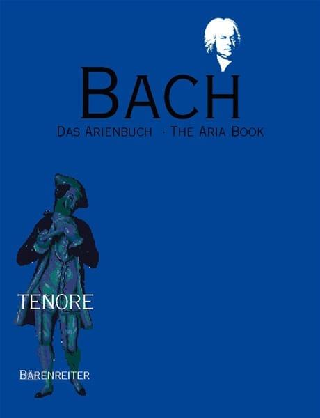 Das Arienbuch Tenor - BACH - Partition - Mélodies - laflutedepan.com
