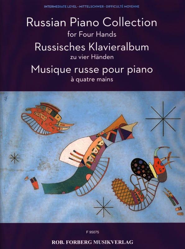 Musique russe pour piano à 4 mains - Partition - laflutedepan.com